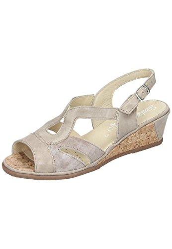 Comfortabel Comfortabel Damen Sandale - Sandalias de vestir de Piel para mujer beige beige Beige