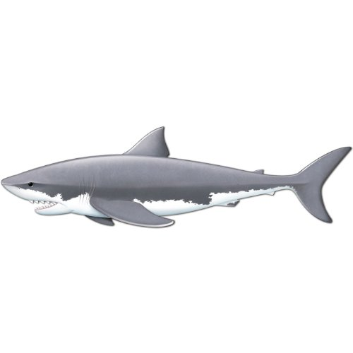 Beistle 57932 Jointed Shark, 5-Feet 11-Inch -