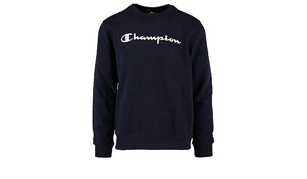 Champion Sudadera Comfortfit Azul Talla: L (Large): Amazon.es: Ropa y accesorios