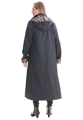 Jessica London Women s Plus Size Long Hooded Raincoat 6b393562b
