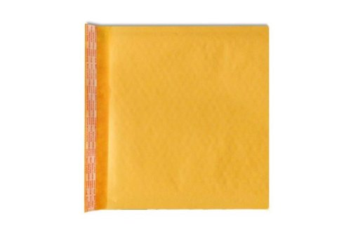 CD Bubble Mailer (7 1/4 x 8) - Brown Kraft (250 Qty.)