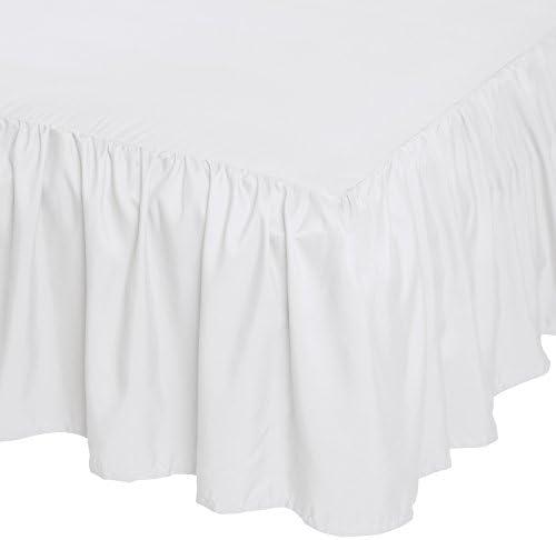 AmazonBasics Ruffled Bed Skirt Bright product image