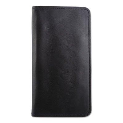 (Passport/document Holder, Black, Leather, 4 3/4 X 9)