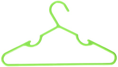 Delta Children 30 Pack Infant & Toddler Hangers, Lime