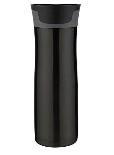 Contigo AUTOSEAL West Loop Stainless Steel Travel Mug, 20 oz, Black