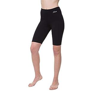 NIRLON Womens Workout Shorts (M, Black)