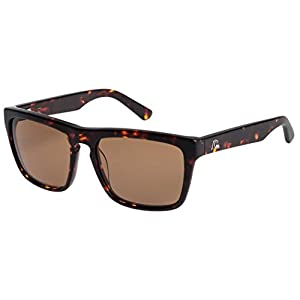 Quiksilver The Ferris M.O. Sunglasses - Shiny Brown Havana / Brown