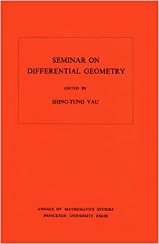 Book Seminar on Differential Geometry. (AM-102) (Annals of Mathematics Studies)