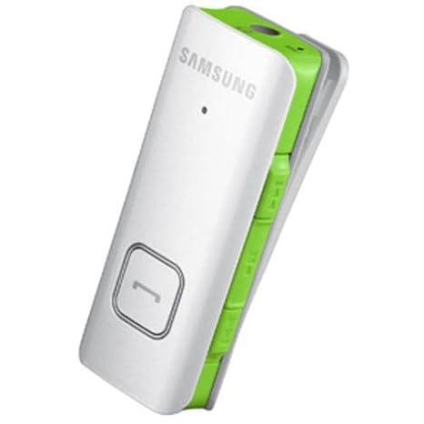 Samsung BHS3000EMECXEG - Auriculares in-ear Bluetooth (estéreo, Micro USB) blanco/verde: Amazon.es: Electrónica