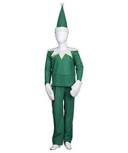 Child Green Elf on The Shelf Costume HC-697