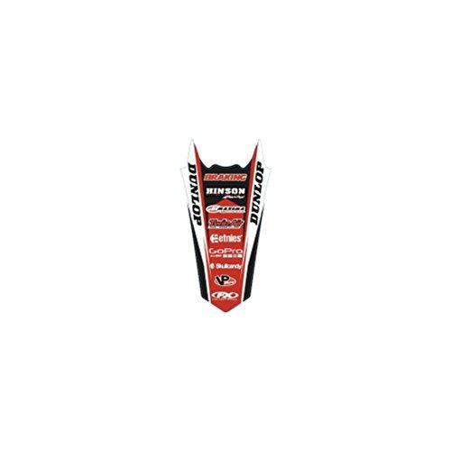 Honda Rear Fender Decal - Factory Effex (17-32302 Rear Fender Graphic