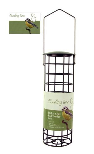 Rosewood (Feeding Time) Wild Bird Deluxe Fat Ball Feeder Bronze - Balls Bird Wild Fat