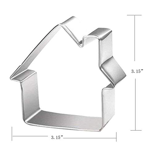 House Cookie Cutter - Food Grade Stainless Steel
