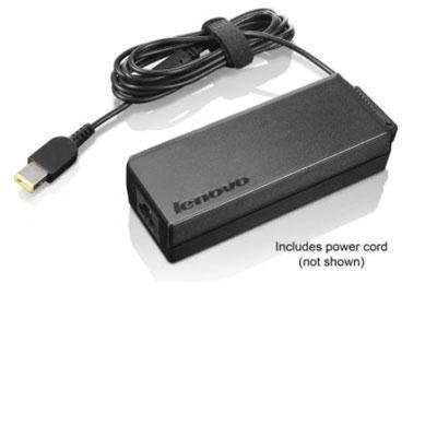 Price comparison product image Lenovo 90W AC Adapter (0B46994 Slim Tip,  2 Prong Power Cord) Packaged In The Factory Sealed Lenovo Retail Packaging