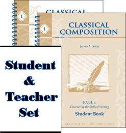 Classical Composition I: Fable Set (Memoria Press Composition)