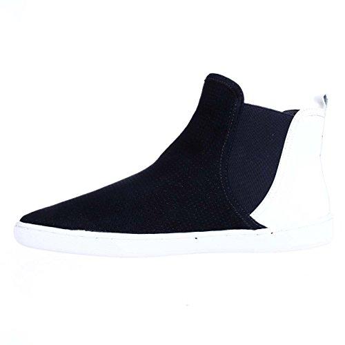 US Top Fashion M 8 EU White High Ovidius Sneakers 39 Uniform Blue A7EIJE EqvOcq
