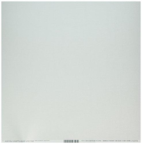 Bazzill Album - Bazzill BAZ302121 Cdstk 12x12 Bling Glass Slipper Card Stock