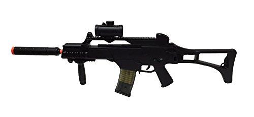 Double Eagle M85 Electric Rifle Airsoft Gun w/ accessories