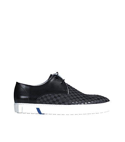 Herren van aus Schwarz Floris Leder Plait Black Sneaker in Bommel qEIWWwOdZ