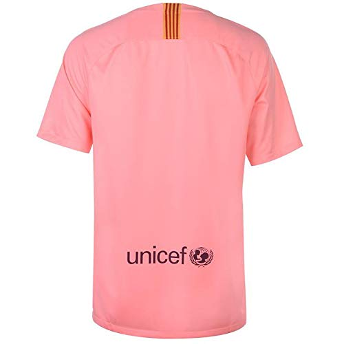 6fd1eb80b43 Buy aaDDa Barcelona 3RD Pink Jersey with Shorts 2018 19 Online at Low Prices  in India - Amazon.in