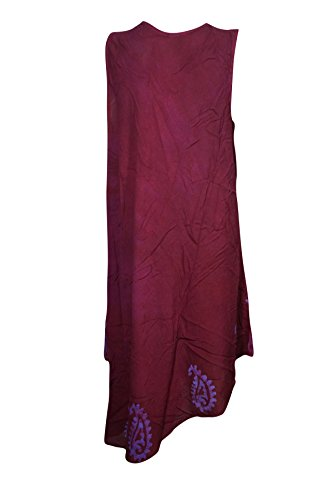 Kleid Purple Interior Mogul Red A blau L Damen Blau Linie H6zgIq