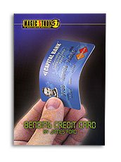 Bending Credit Card James Ford   Magic Studio 51