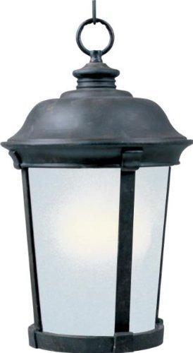 Dover Hanging (Maxim Lighting 85099FSBZ, Dover EE 1-Light Outdoor Hanging Lantern, Bronze by Maxim Lighting)