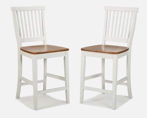 Buy white wood bar stool