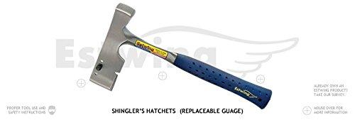 Estwing E3-S Shingler Hatchet (With Replaceable Gauge)