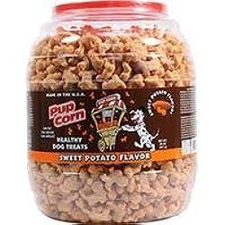 Triumph Pup Corn Dog Treats Barrel - Sweet Potato - 30 Oz.