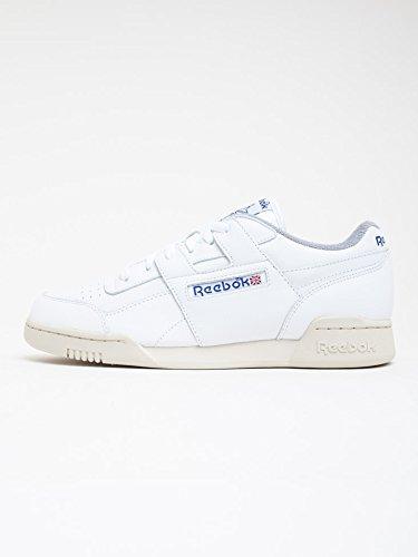 Classic Workout White Sneakers Herren Plus Reebok R12 4vqznwp0wC