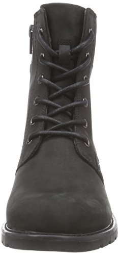 Black Spice Leather Boots Womens Clarks Orinoco Mainline YwRfa70