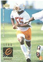 1995 Upper Deck Derrick Brooks Rookie Football Card #21 Derrick Brooks Mint ()