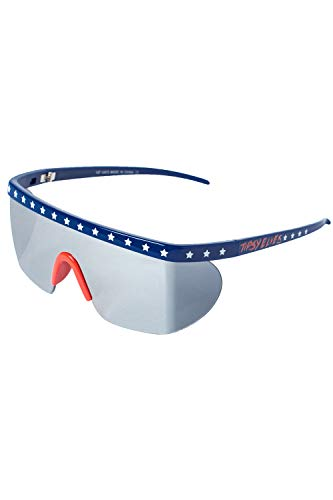 Performance Style Retro Americana Mirrored Sunglasses
