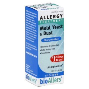 Natra Bio - Allergy Relief Mold/Yeast/Dust, 1 fl oz liquid