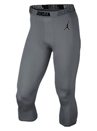 Amazon Com Nike Men S Jordan Aj 3 4 Compression Training Tights