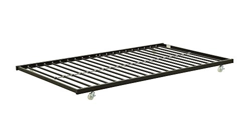 DHP Universal Trundle Metal Frame, Fits Most Daybeds - Black Trundle Only