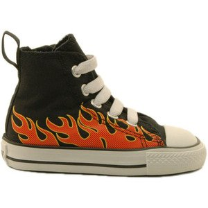 22b65a2c6212 Amazon.com  Converse Chuck Taylor All Star Hi Top Flame Toddlers ...