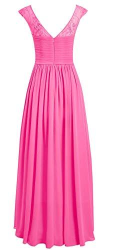 Red E067LF Evening Long Prom Dresses Round Gown Women TalinaDress Bridesmaid Neck qIz66w