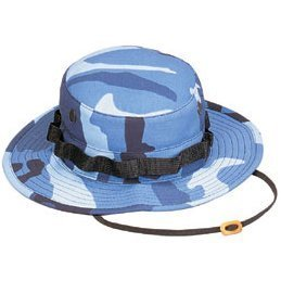5802 Sky Blue Camo Boonie hat (Size 7.75) (Camo Sky Force Ultra)