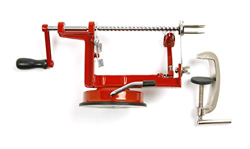 Norpro 865R Apple Master-Apple, Potato, Parer, Slicer & Corer with Vacuum Base & Clamp ()