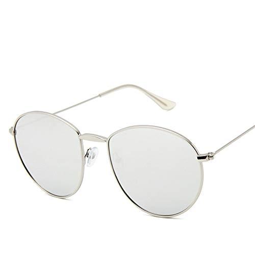 À Necct De Lunettes Lens Ocean Soleil Mode Glasses Retro Metal Silversilver Vintage La Luxury ratrwxqF1