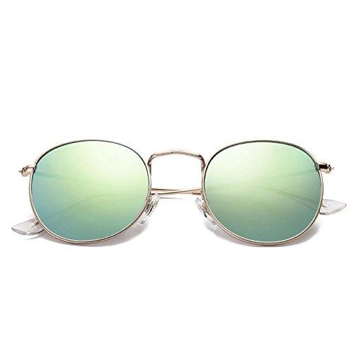 Neuf soleil personnalité de rond cadres Shop circulaires film rétro de soleil soleil rétro lunettes de de mode couleur Lunettes 6 lunettes soleil Cadre lunettes nouvelle AxxqSw7