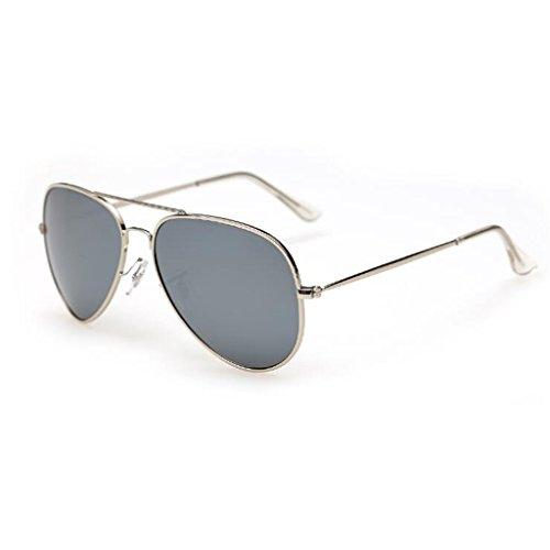 De Película Vintage A Silver White and Color Color Gafas Drive QZ Silver And White Polarizador HOME Sol w8xBCnqE0