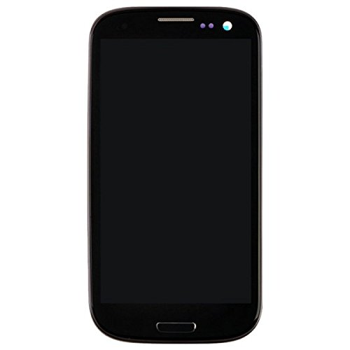 LCD, Digitizer & Frame Assembly for Samsung L710 Galaxy S III (Sprint CDMA) (Black) (Aftermarket - Without Samsung Logo) with Glue Card