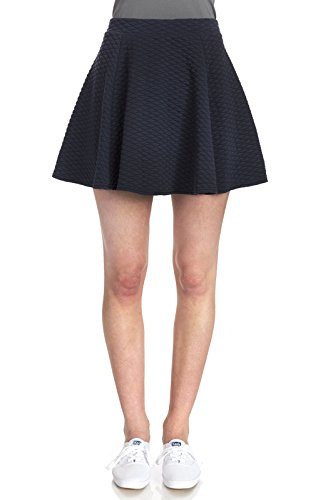 WallFlower Womens Quilted Skater Skirt product image
