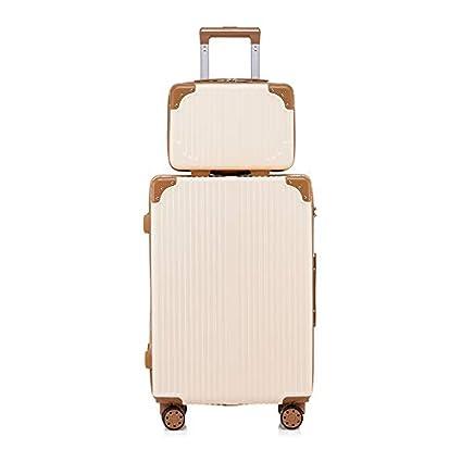 07c20886d58b Amazon.com: GJF Hard Suitcase Set, Universal Wheel Travel Suitcase ...