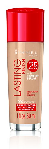 Rimmel London - 25Hour Lasting Finish Foundation - 200 Soft Beige 30ml