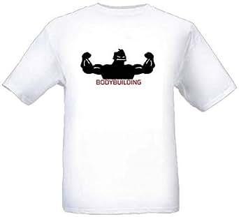 White Short Sleeve T-Shirt - White For Men Size S